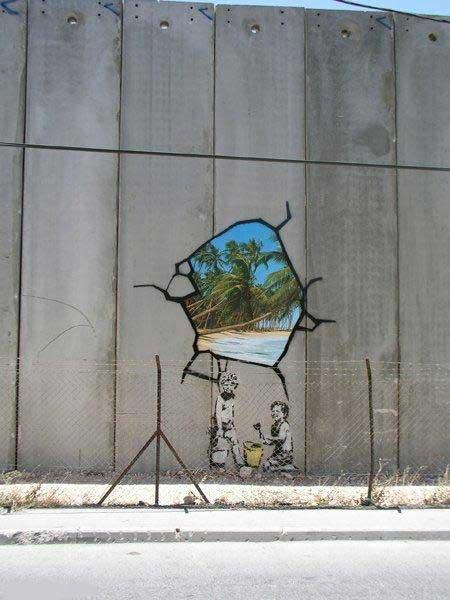 фото рисунки на заборе