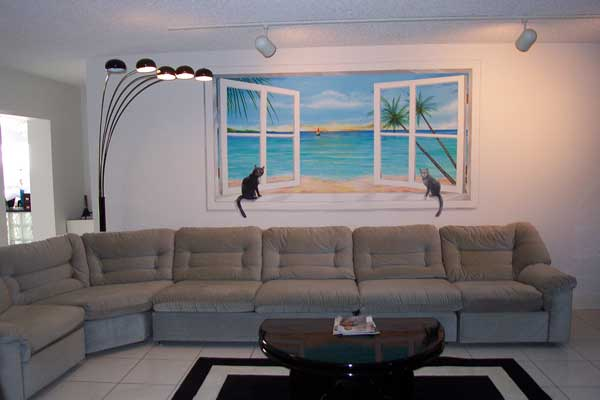 Рисунки на стенах 5 фотографий