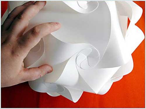 Как сделать облако из бумаги