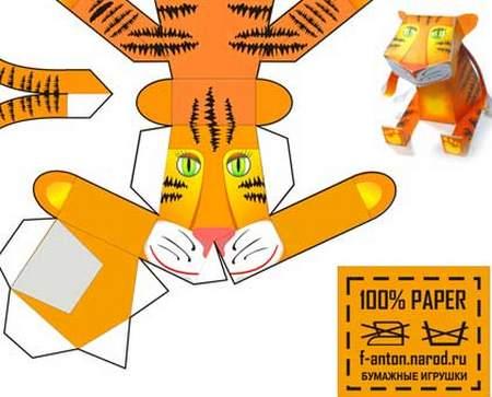 Объемные игрушки из бумаги на новый гРемонт